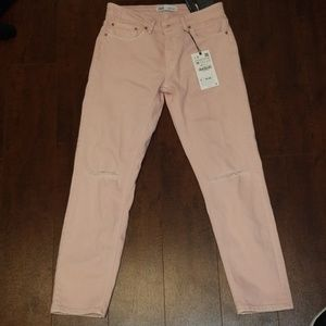 Light pink Zara Jean's size 4 new with tags